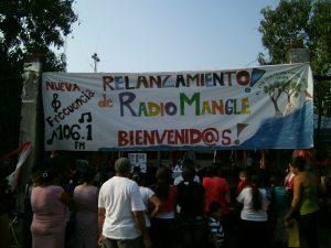 Personas de la comunidad presentándose al evento- Foto por José María Argueta