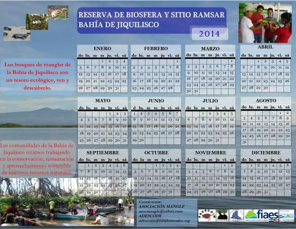 Calendario Mangle 2014